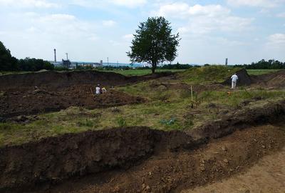 Археологи досліджують курган на Вінниччині