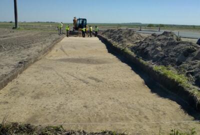 Розпочались археологічні дослідження при реконструкції дороги між Жовквою та Кам'янка-Бузькою на Львівщині