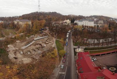 РАС завершила дослідження на місці спорудження Меморіалу Небесної Сотні