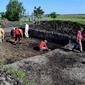 Завершено дослідження трьох давніх поселень на Волині