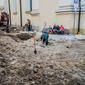 Археологи завершили шурфування на вул. Корнякта у Львові